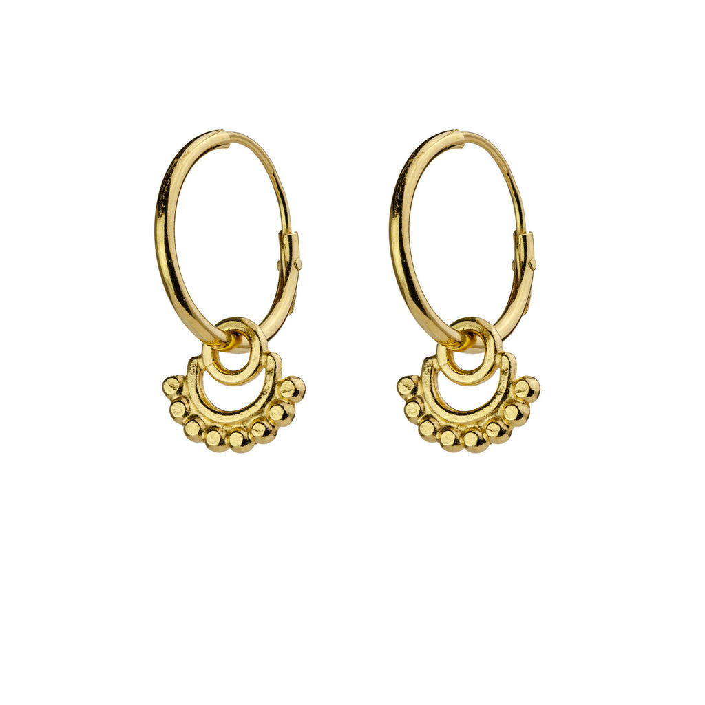 Mini Hoop earrings Gold