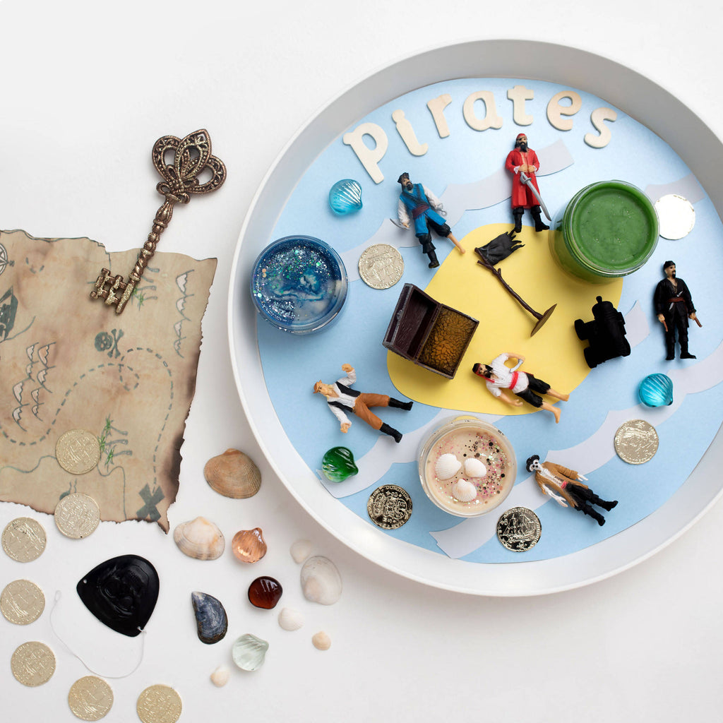 Pirate play dough kit - Grab Bags