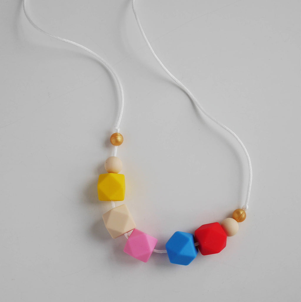 Teething Necklace & New Mum Gift Set
