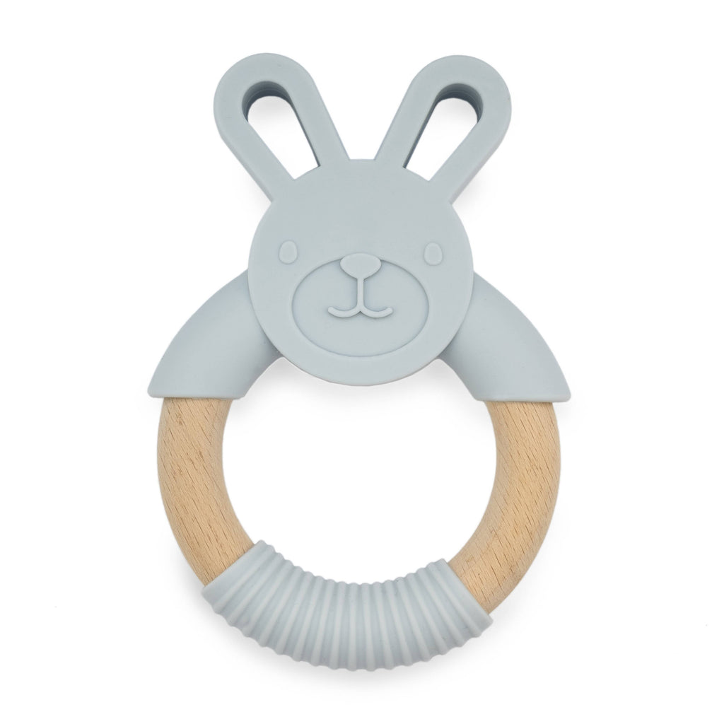 Silicone Teether - Grey