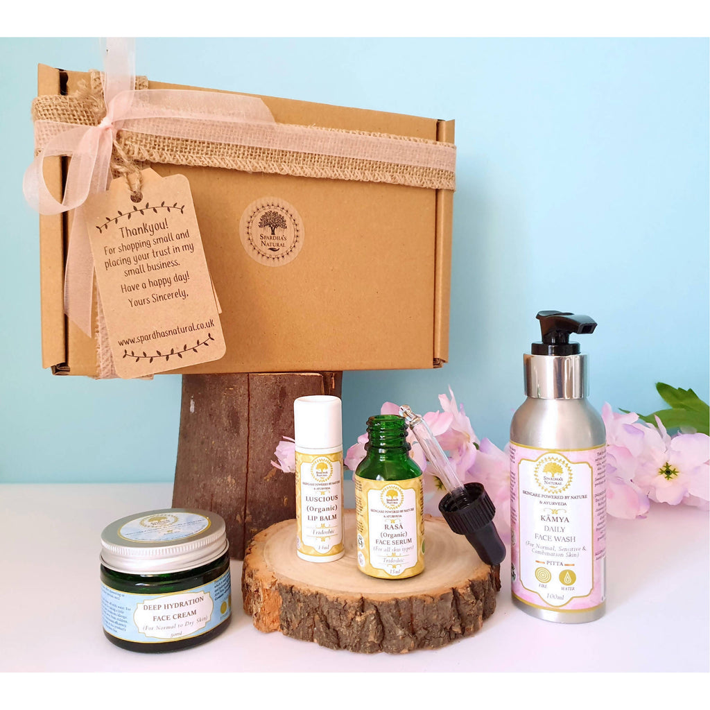 Revitalise: A Complete Face Care Beauty Kit (Eco-friendly Gift Collection)