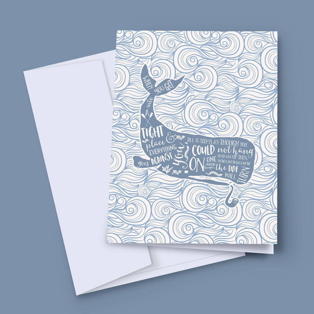 The Tide Will Turn Greeting Card
