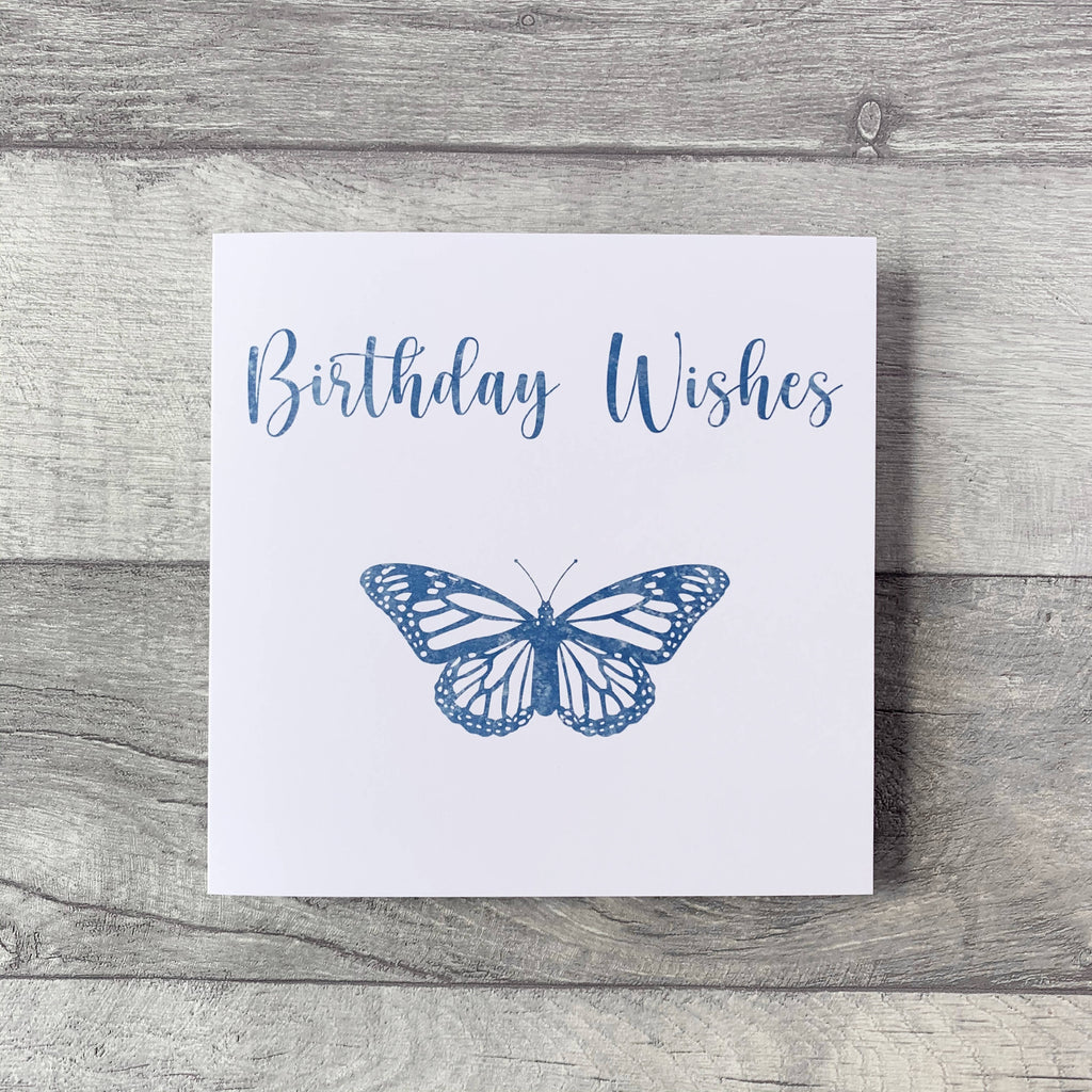 Happy Birthday Card available in pink, red, purple and blue