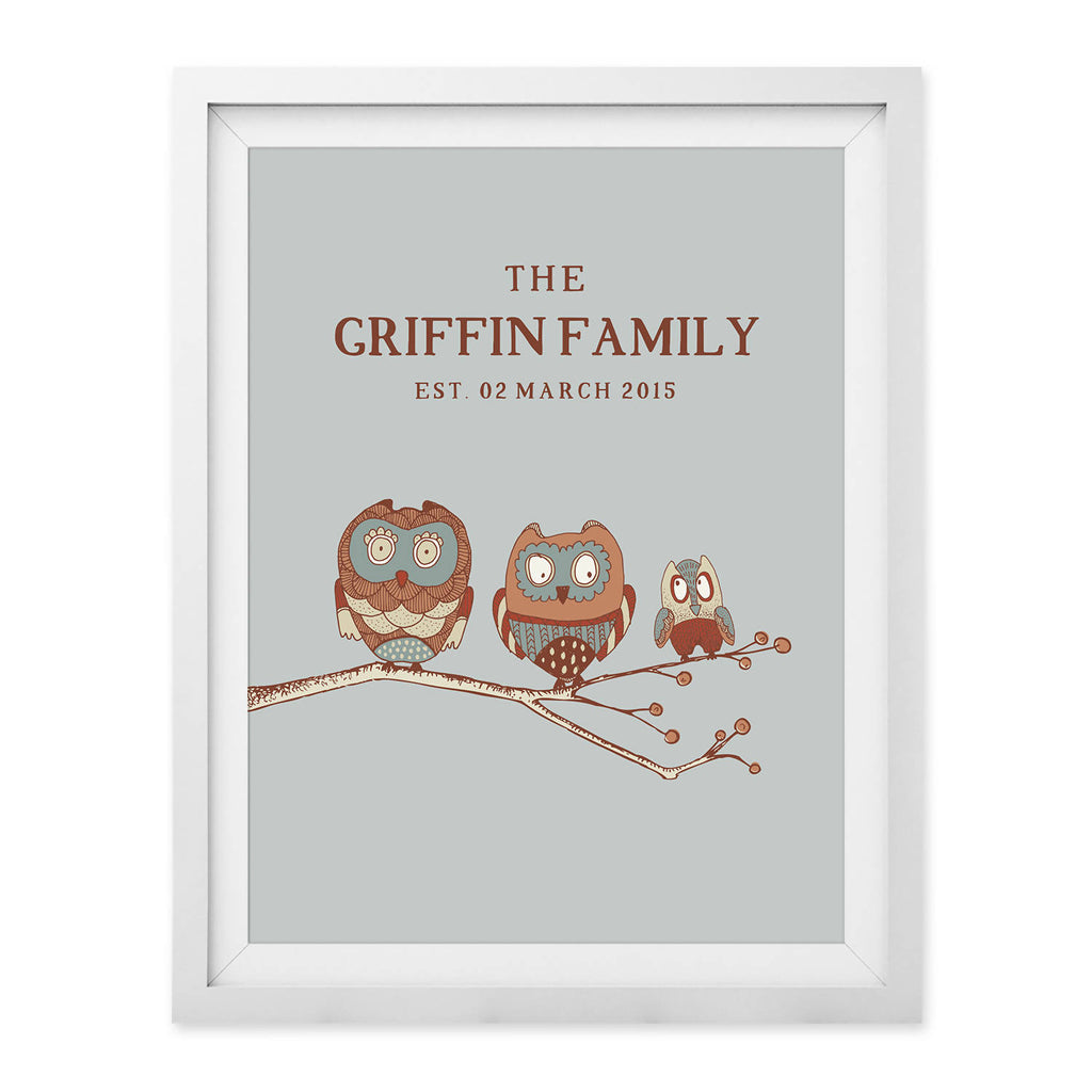 Family Tree Branch Print (UNFRAMED)