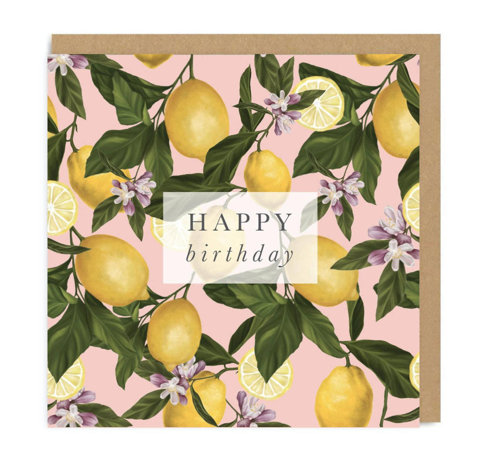 Happy Birthday | Lemons