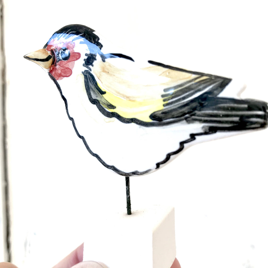 Goldfinch Pottery Ornament