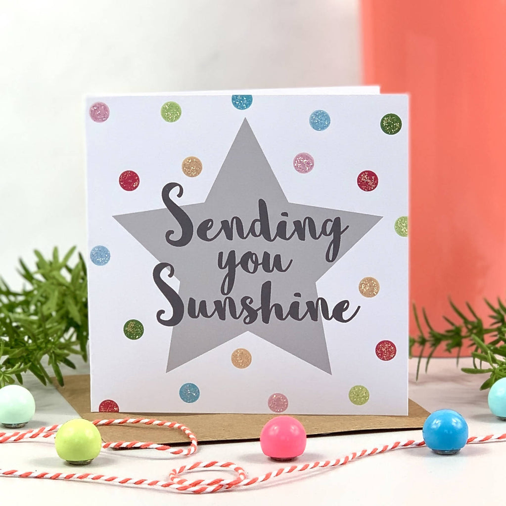 Sending You Sunshine Spot Card