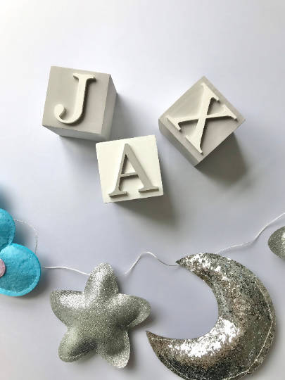 Name Blocks For Baby's Nursery