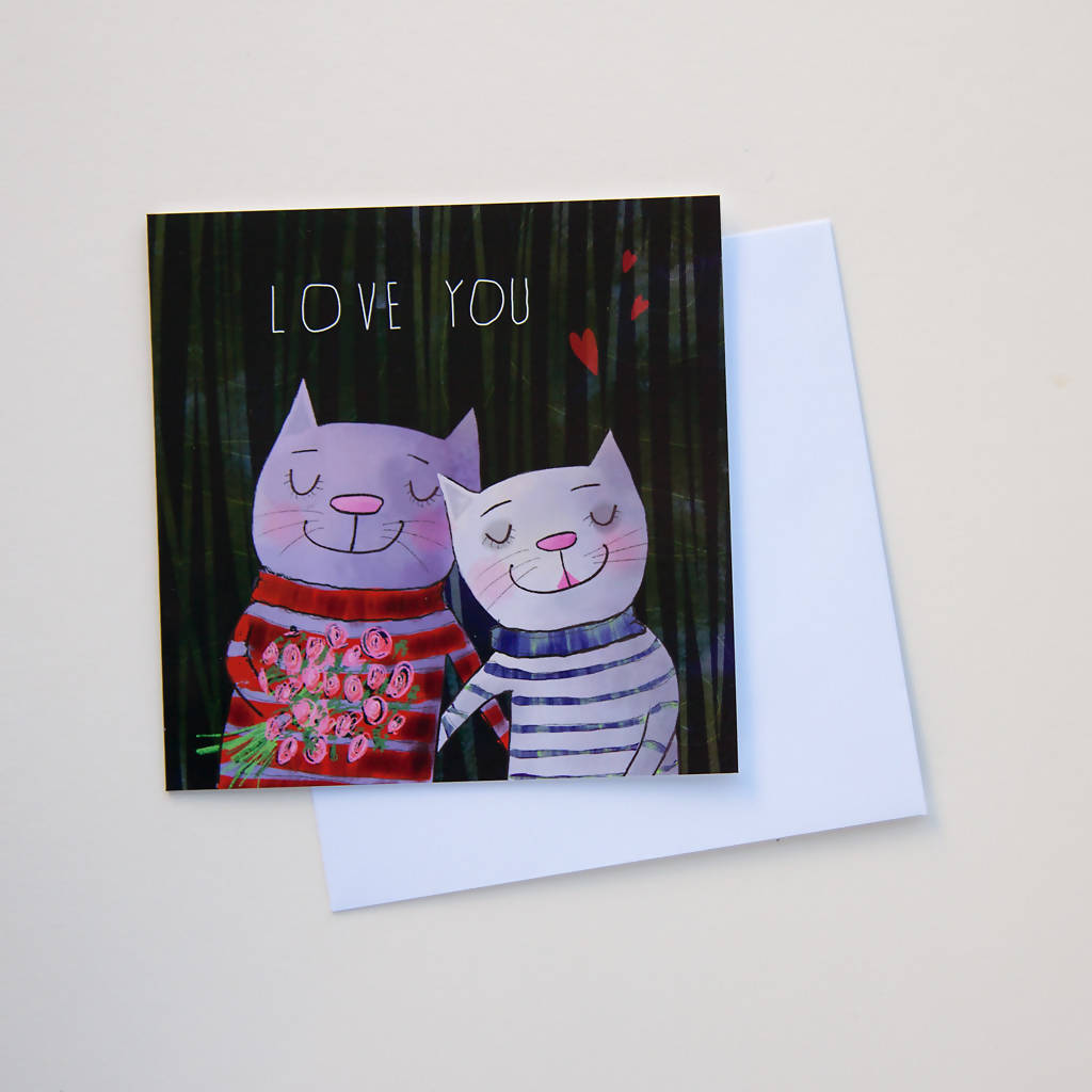 Love You Greetings Card