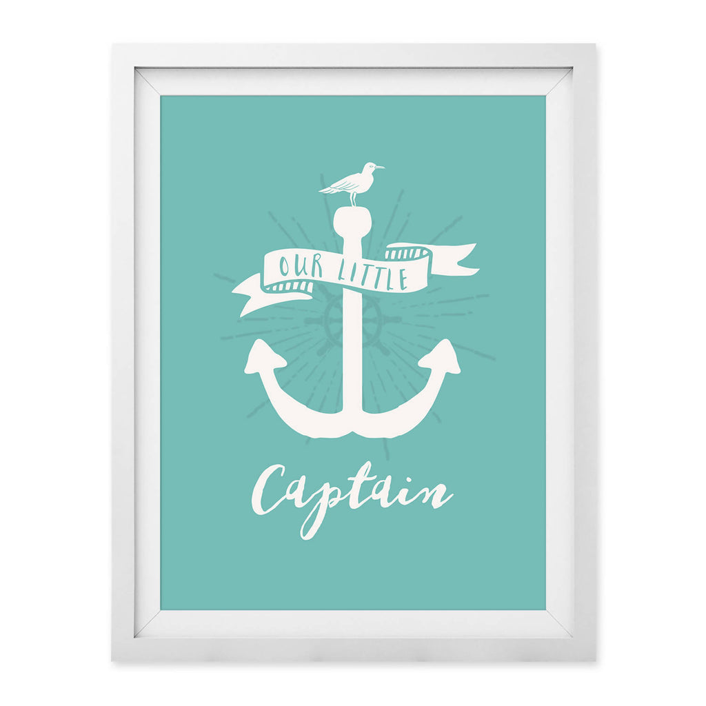 Our Little Captain Print (UNFRAMED)