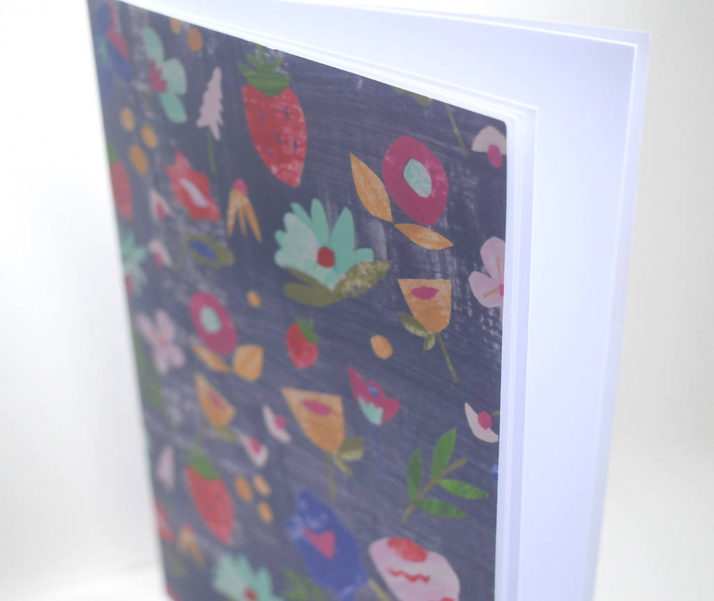 Dolly Pepper Studio, notebook, A5 saddle stitched brochure