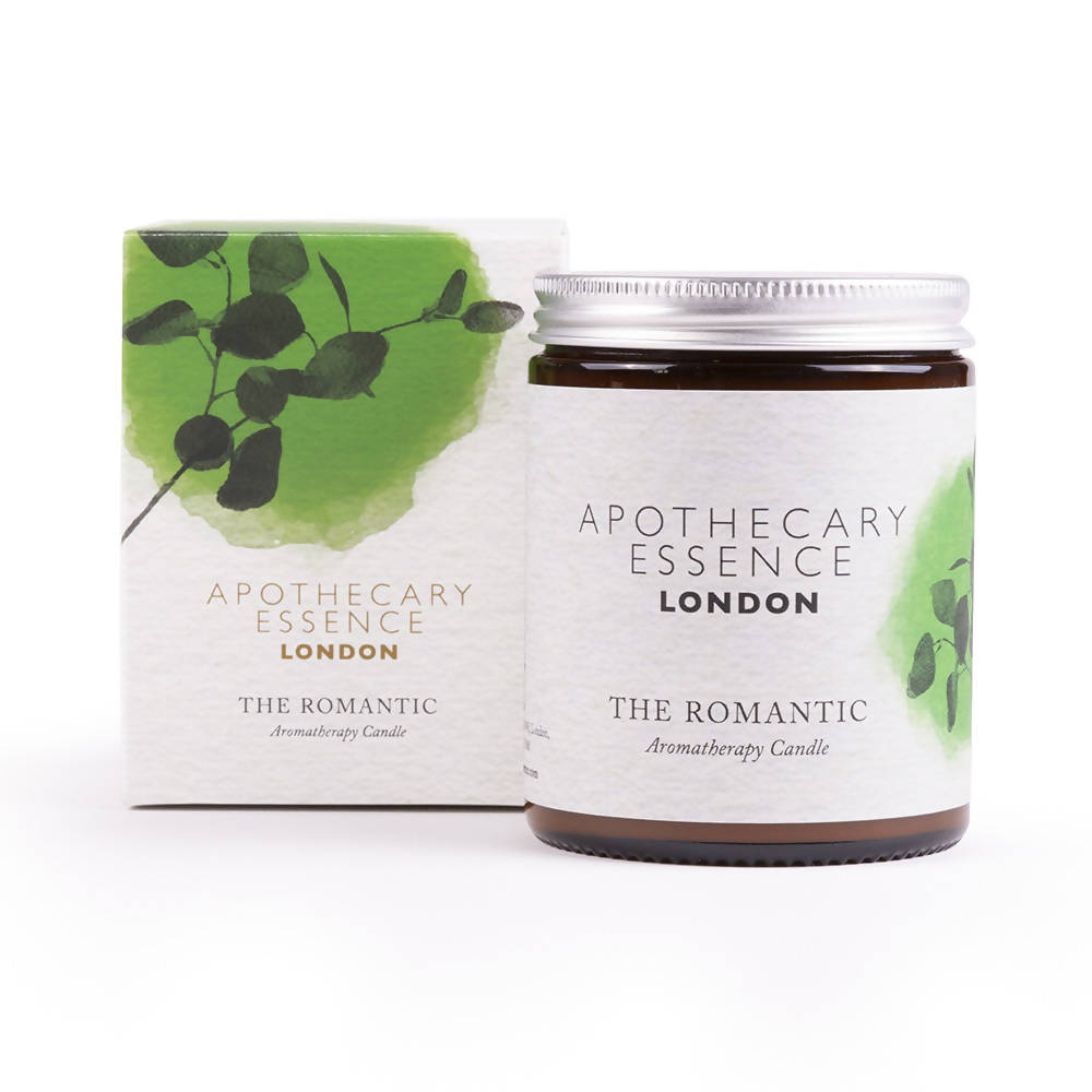 Lime, Geranium and Vetiver - The Romantic Aromatherapy Candle