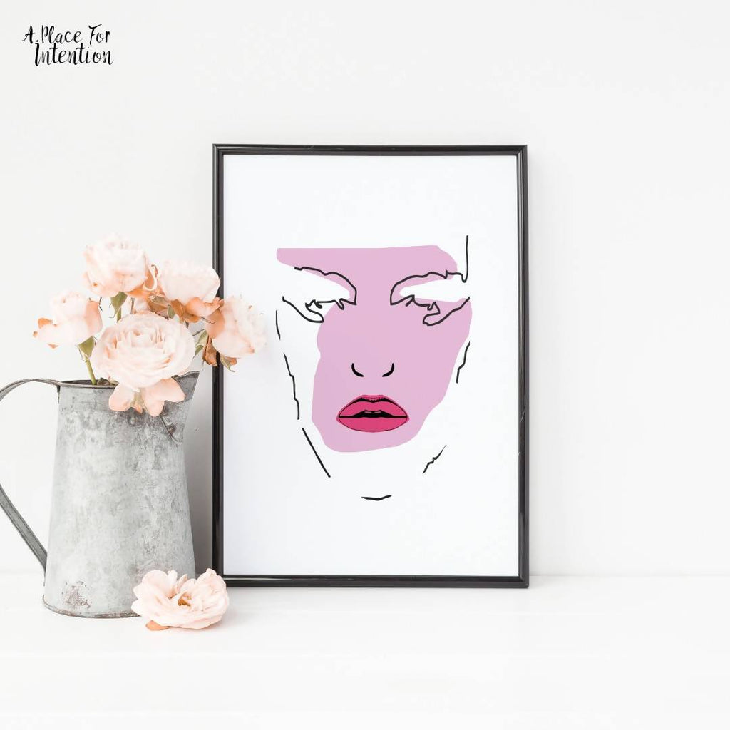 Beauty Pop Illustration Art Print