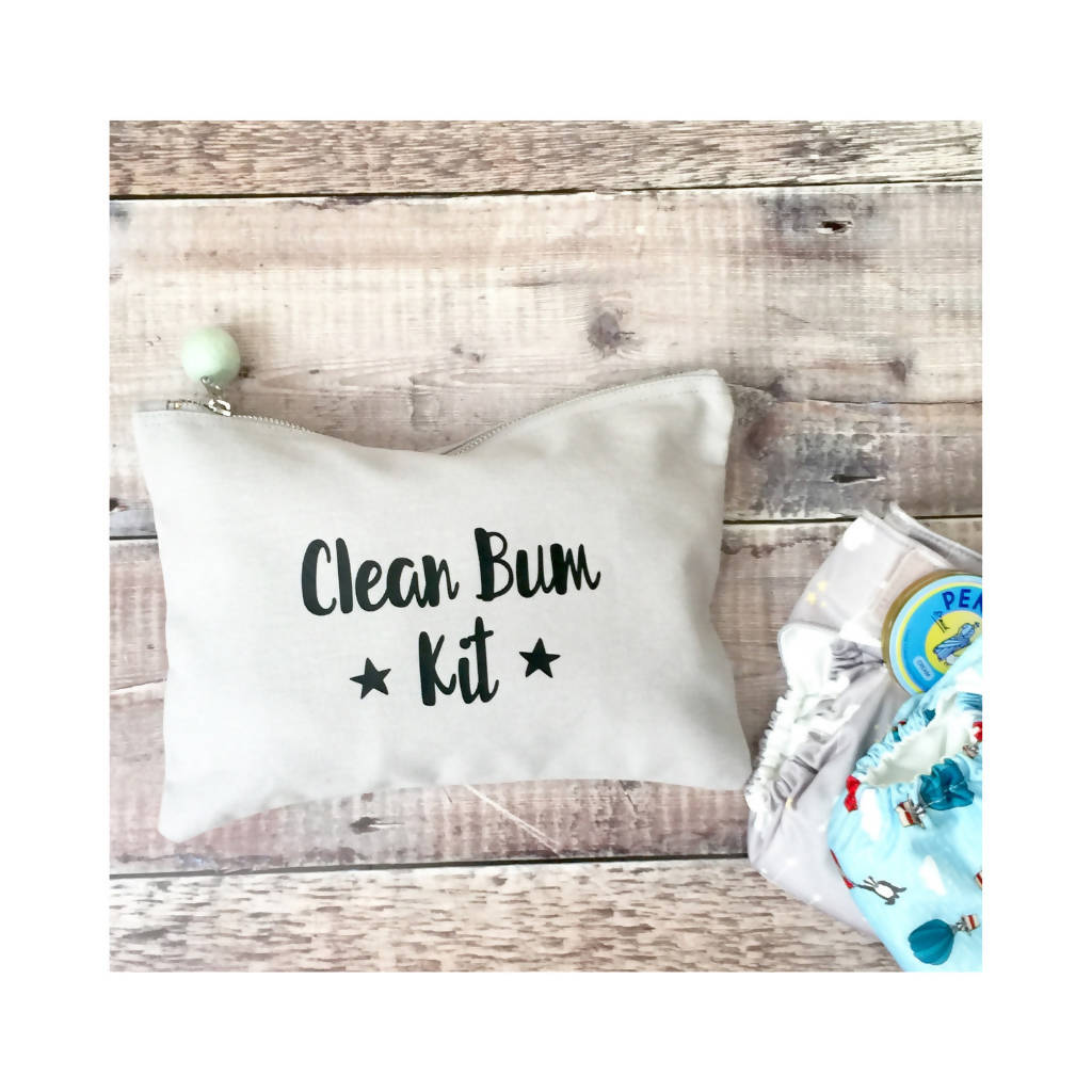 Clean Bum Kit Nappy Wallet