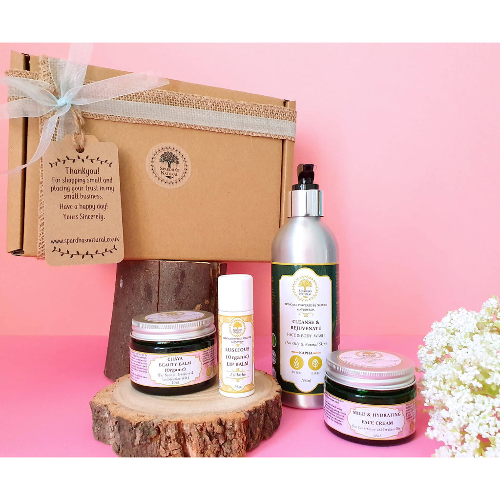 Balance: A Complete Face & Body Care Beauty Kit (Eco-friendly Gift Collection)