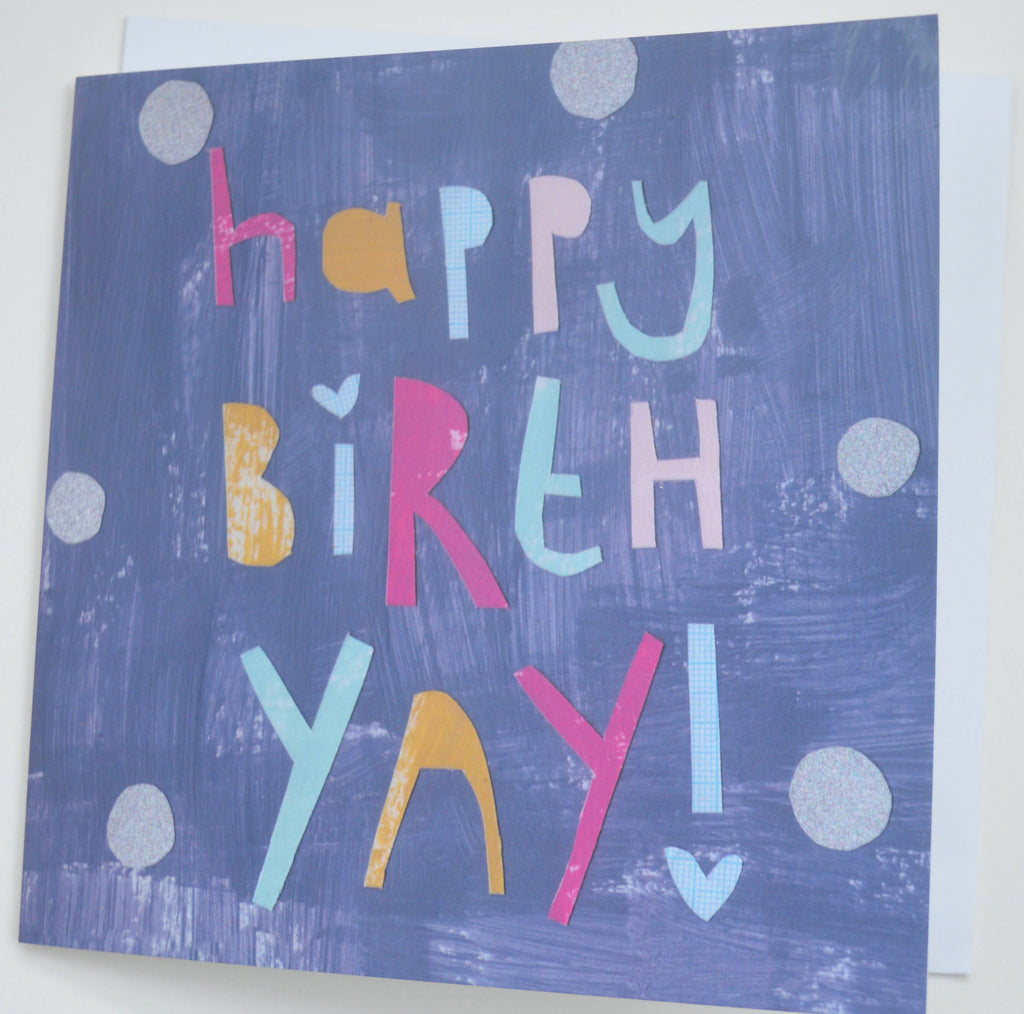 Greeting card, birthday card, Happy birthday, gifts for her, card fun, bold, birthyay, Dolly Pepper Studio