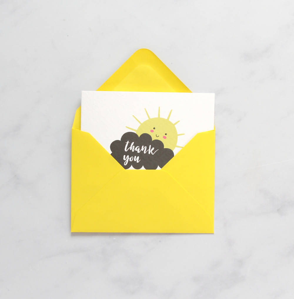 Mini Card Pack - Sunshine Thank You