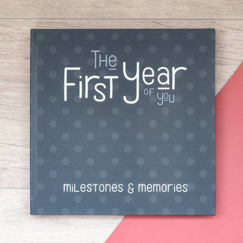 The First Year - Personalised Baby Journal