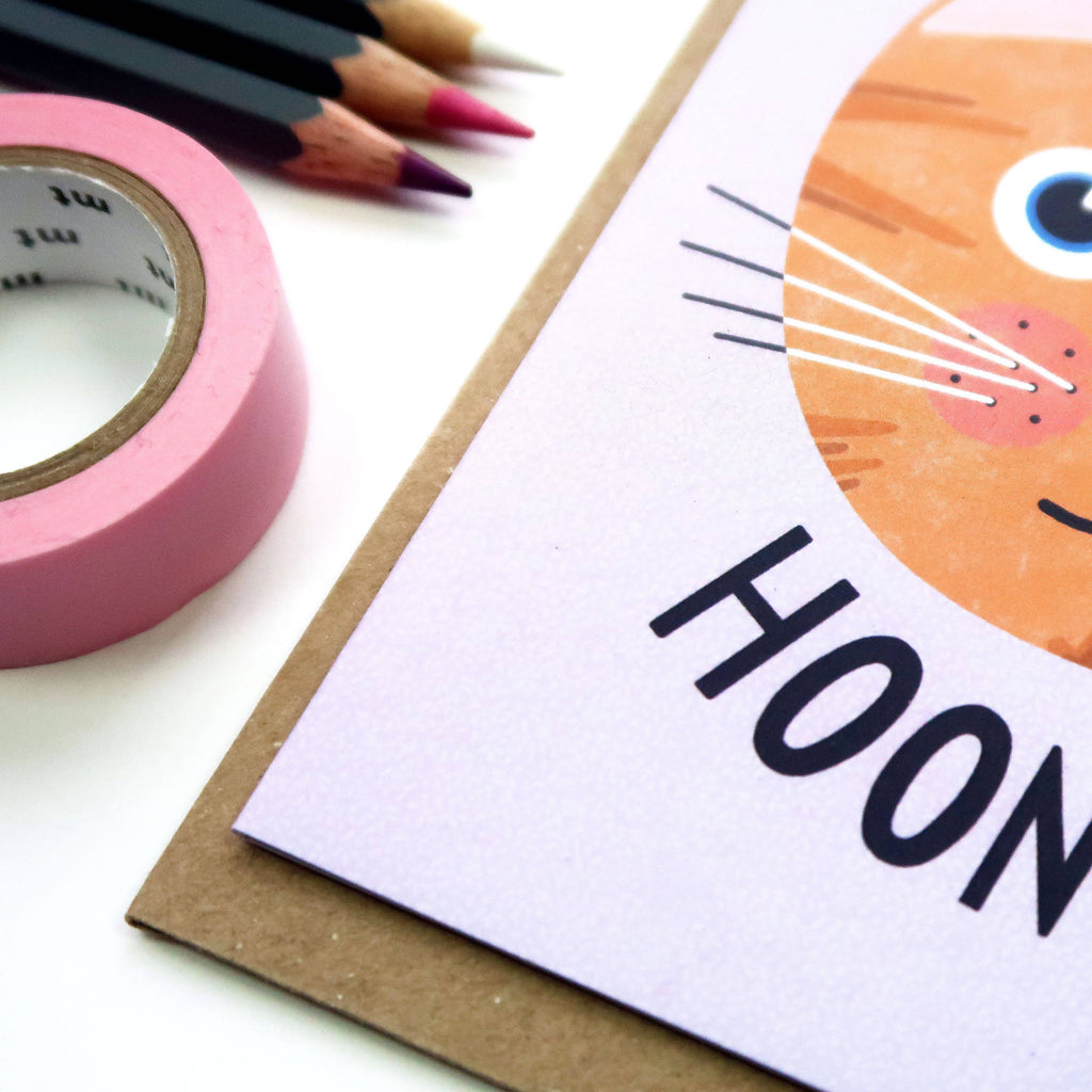 You Are A Top Hooman A6 Cat Card - The Cute Cats Collection