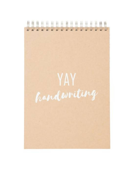 Yay Handwriting Notebook