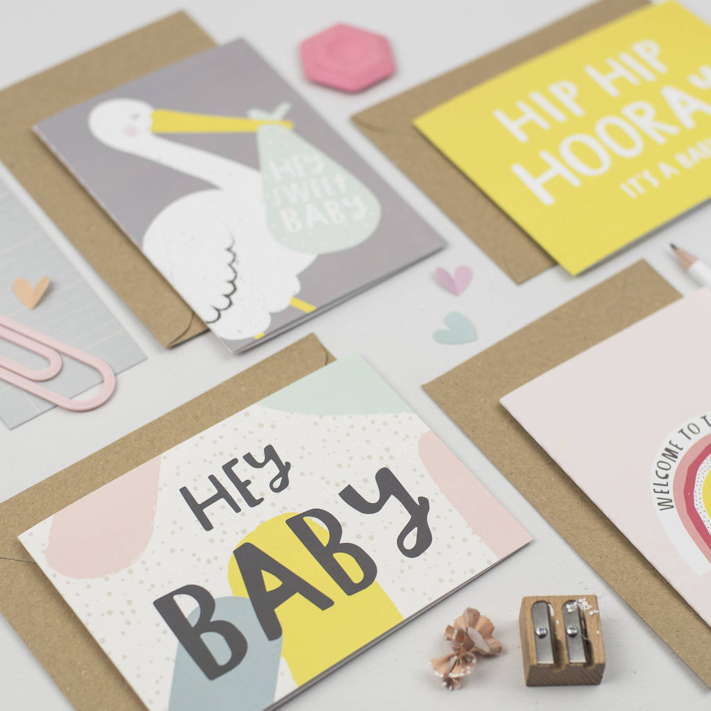 Hey Baby new baby card