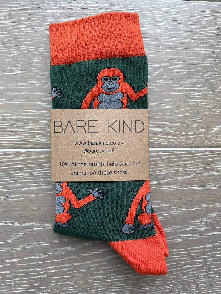 'Save the Orangutans' Bamboo Socks