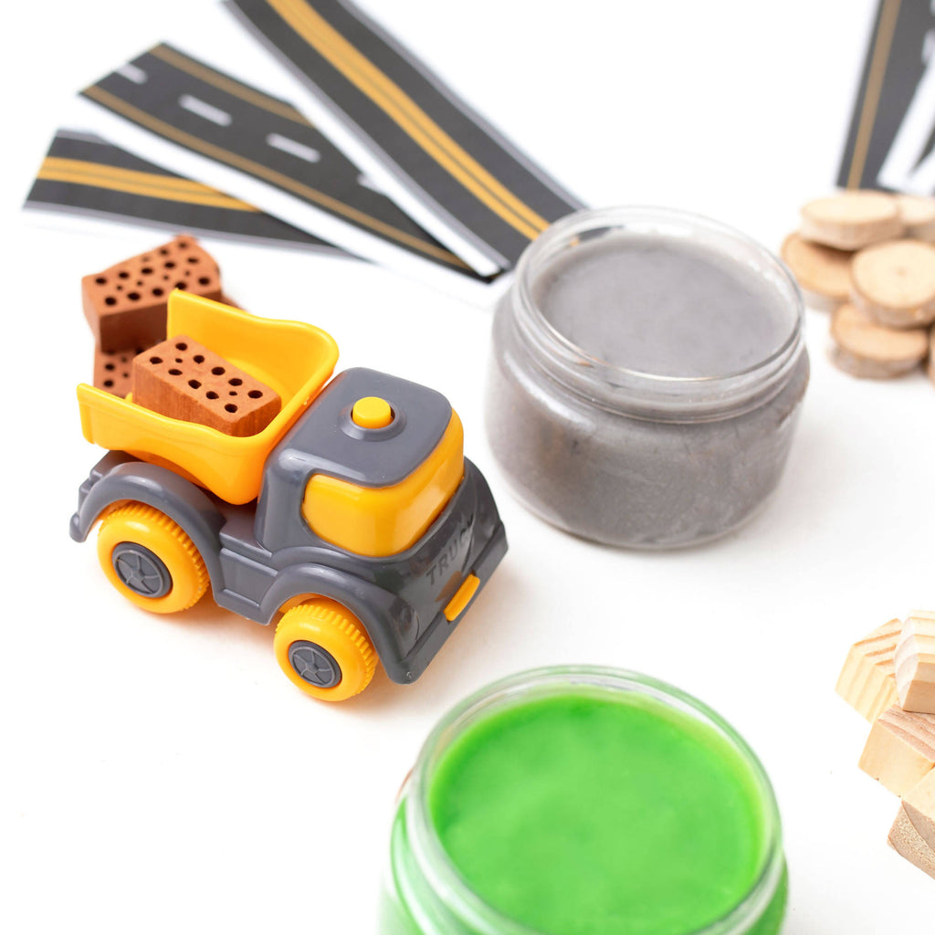 Construction Play Dough Kit - Grab Bags