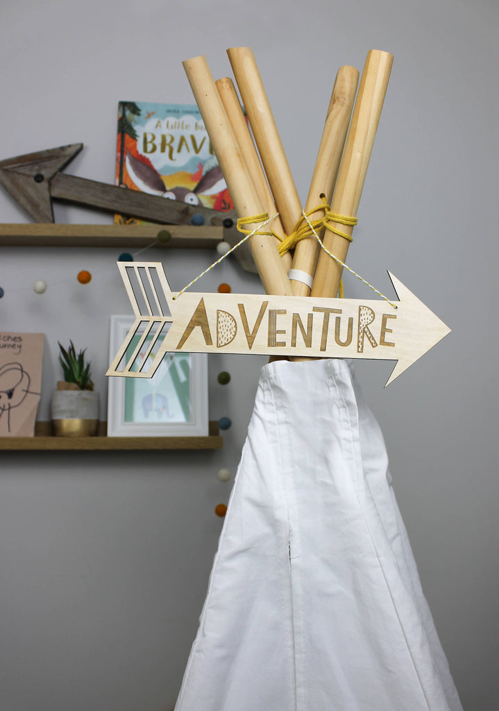 Adventure Wooden Arrow