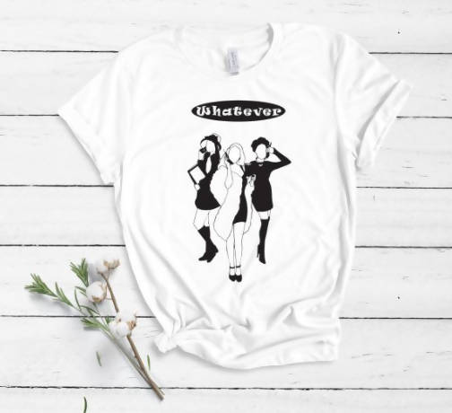 Clueless Inspired 'Whatever' Iconic Movie T-Shirt