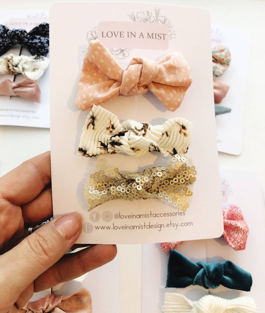 Surprise hair bow pack