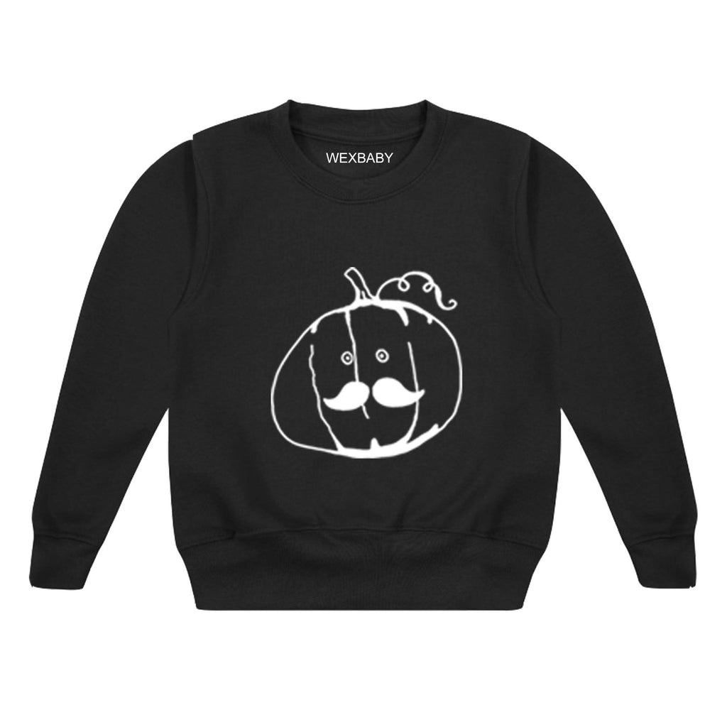 Pumpkin Head ~ Childrens Sweater