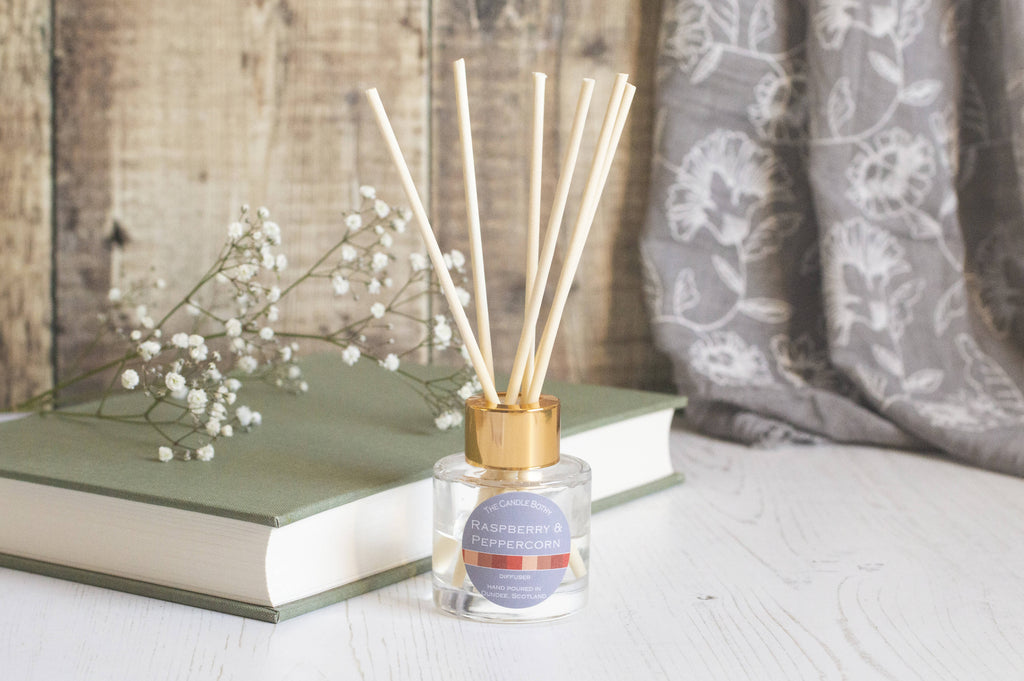 Raspberry and Peppercorn reed diffusers