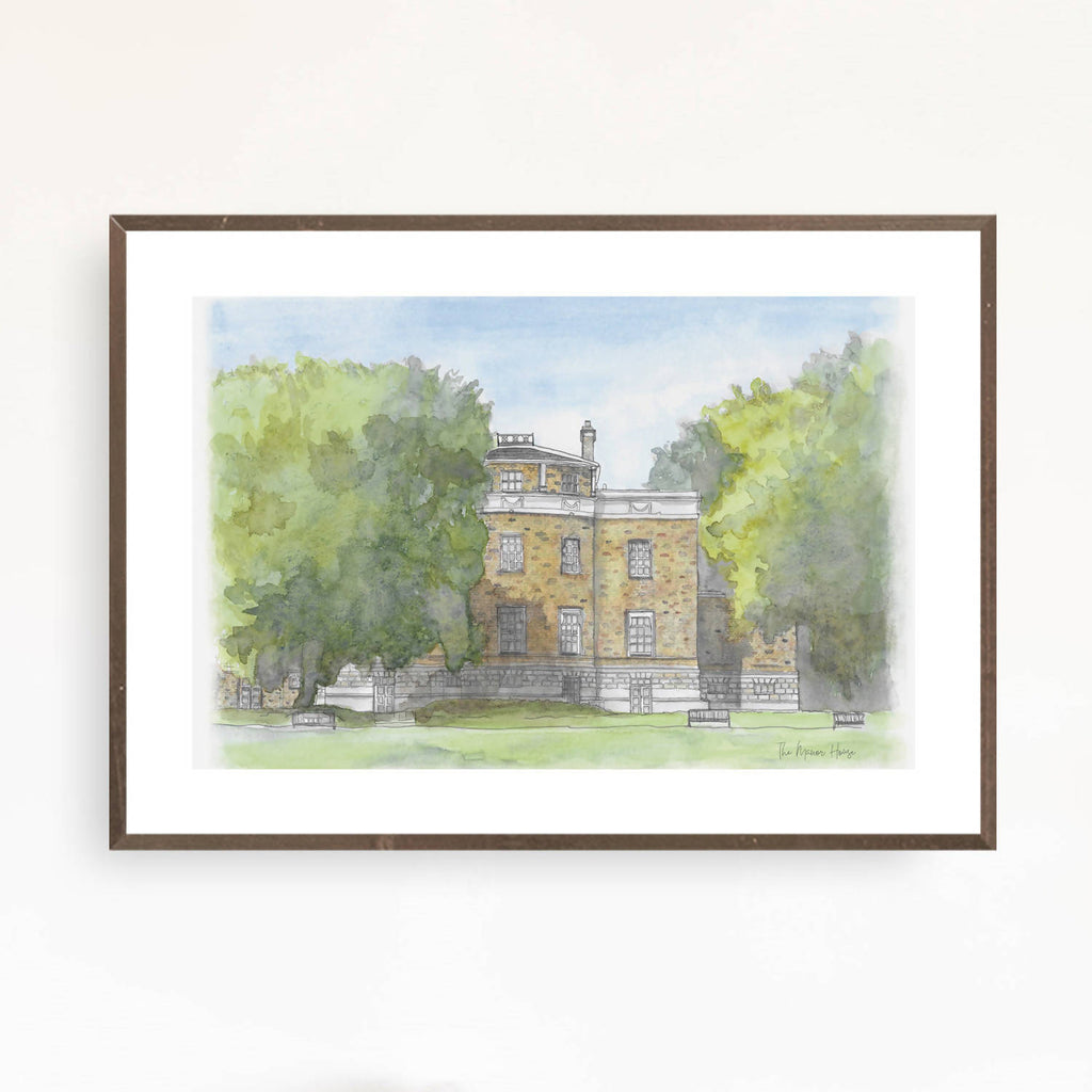 The Manor House, Hither Green Print
