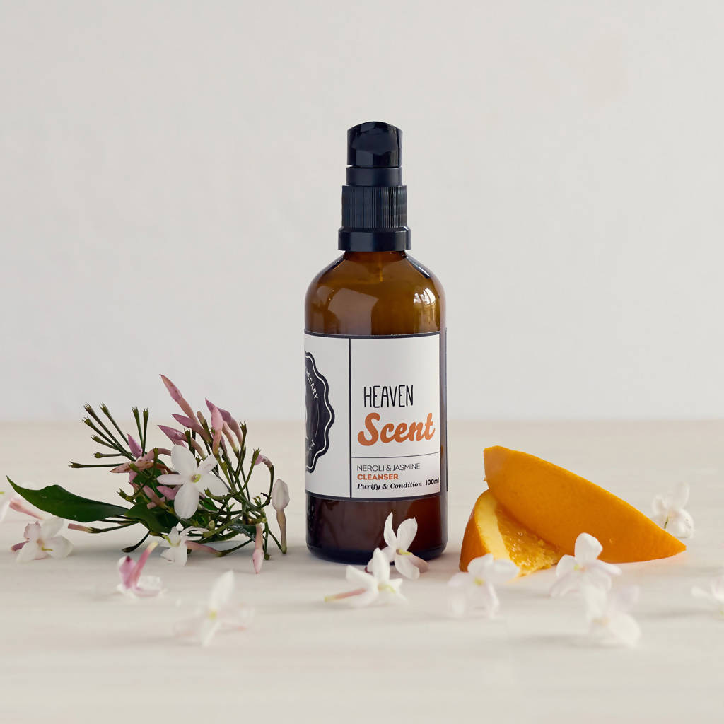 Heaven Scent Vegan Cleanser - All Skin Types - Neroli & Jasmine