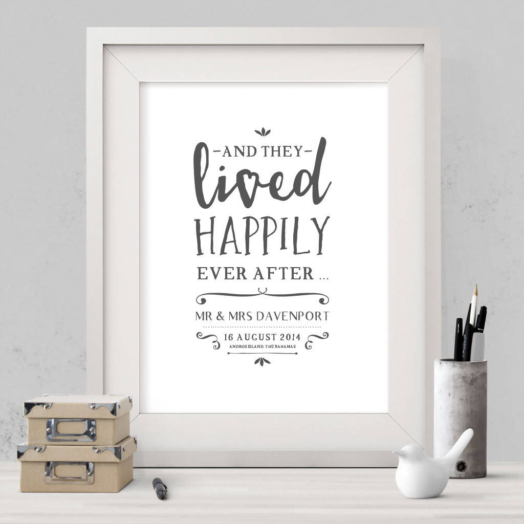 Happily Ever After Print (UNFRAMED)