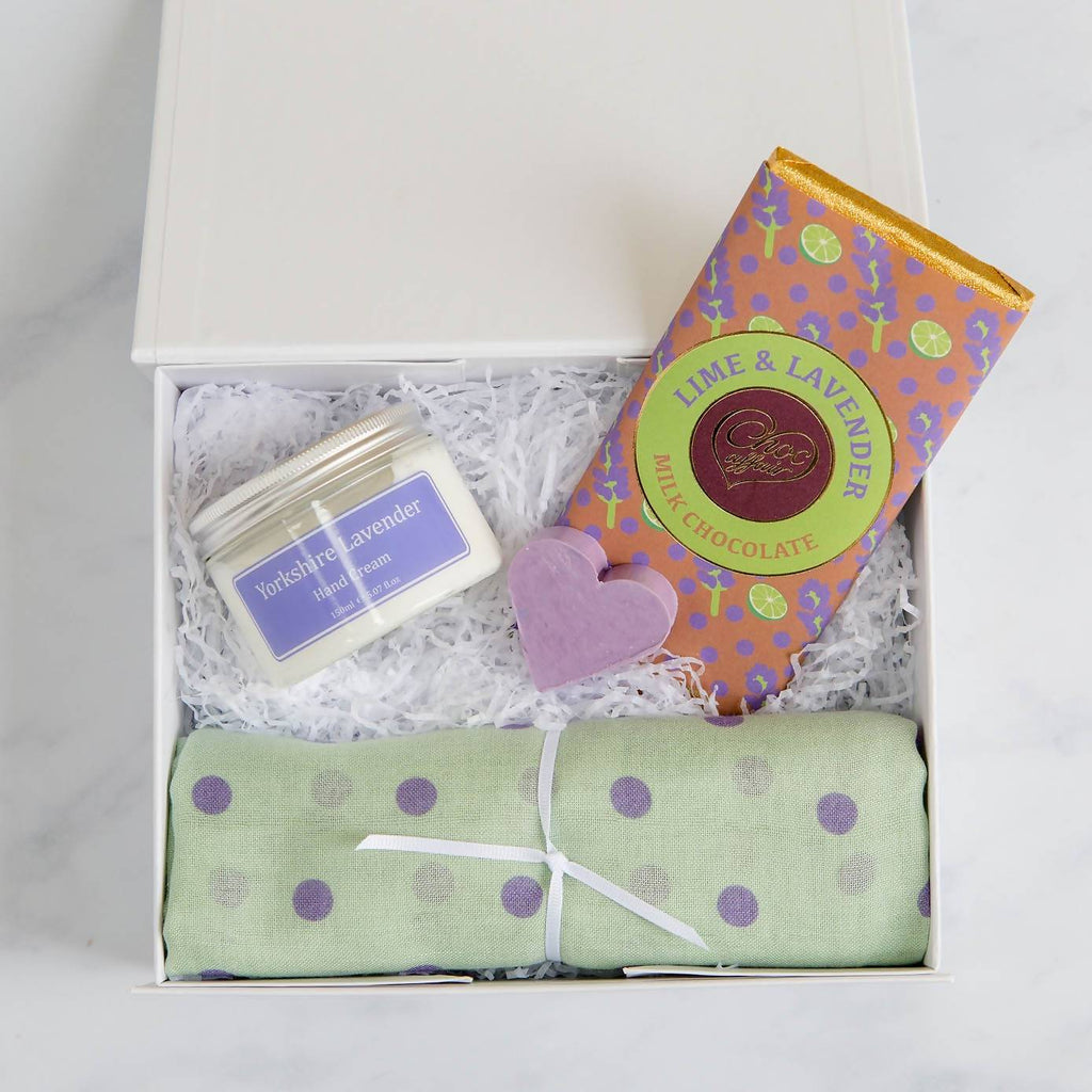 Lavender & Lime Gift Box