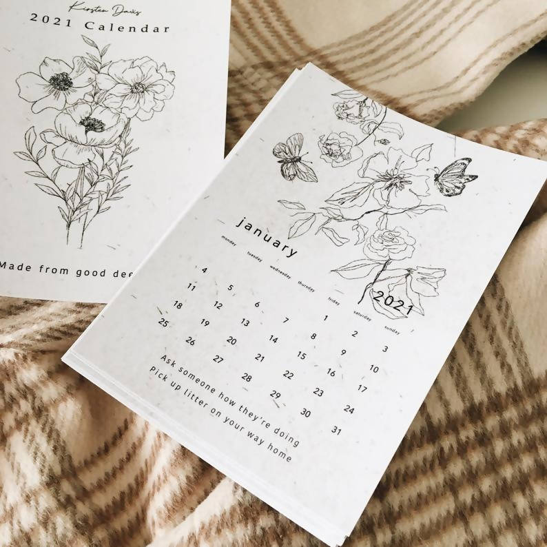 2021 'Good Deed' Desk Calendar
