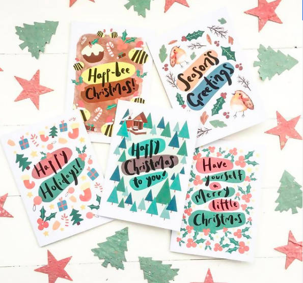 Choose Your Own Christmas Card Pack