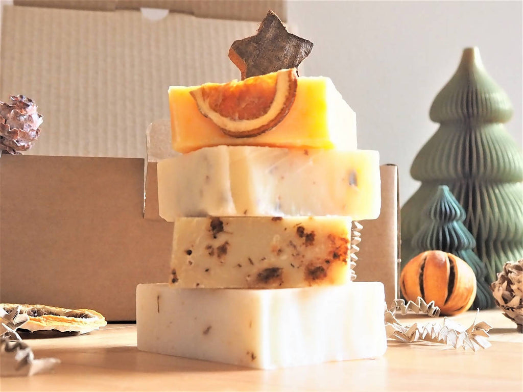 Organic Soap Gift Box - Four