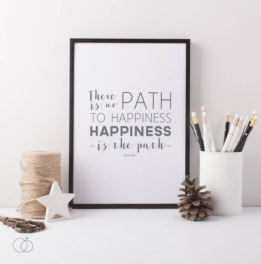 Buddha Happiness Print