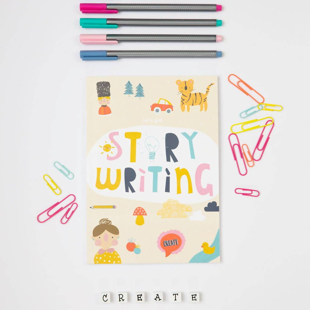 Story Writing Activity Book (Paperback)