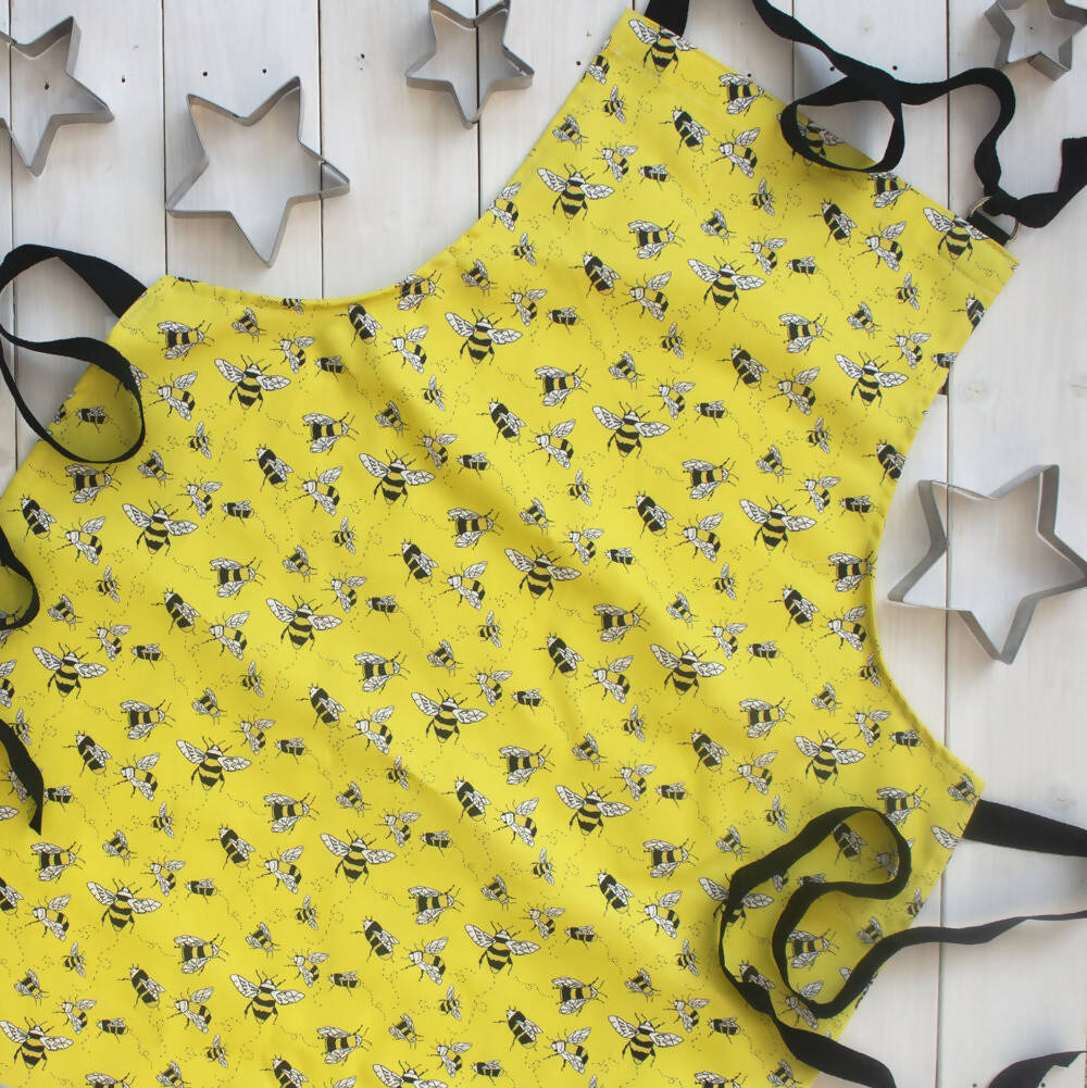 Personalised Buzzy Bee Apron