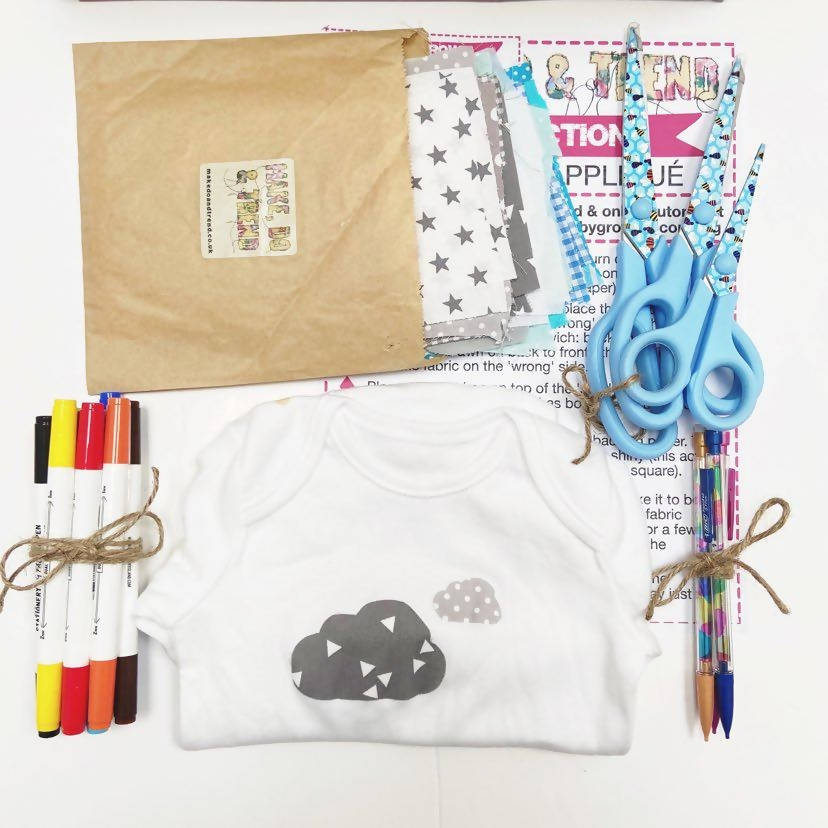 Baby Shower in a Box- Babygrow decorating kit