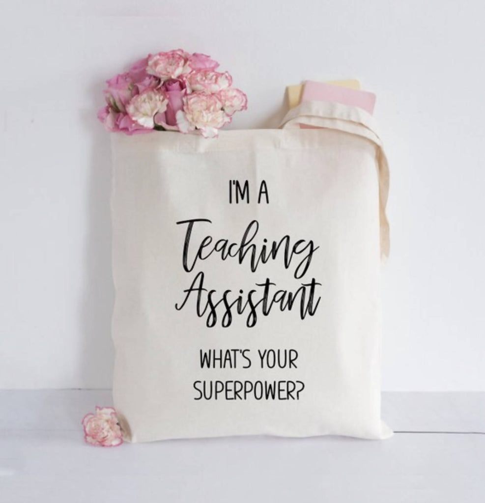 Teaching Assistant Tote bag