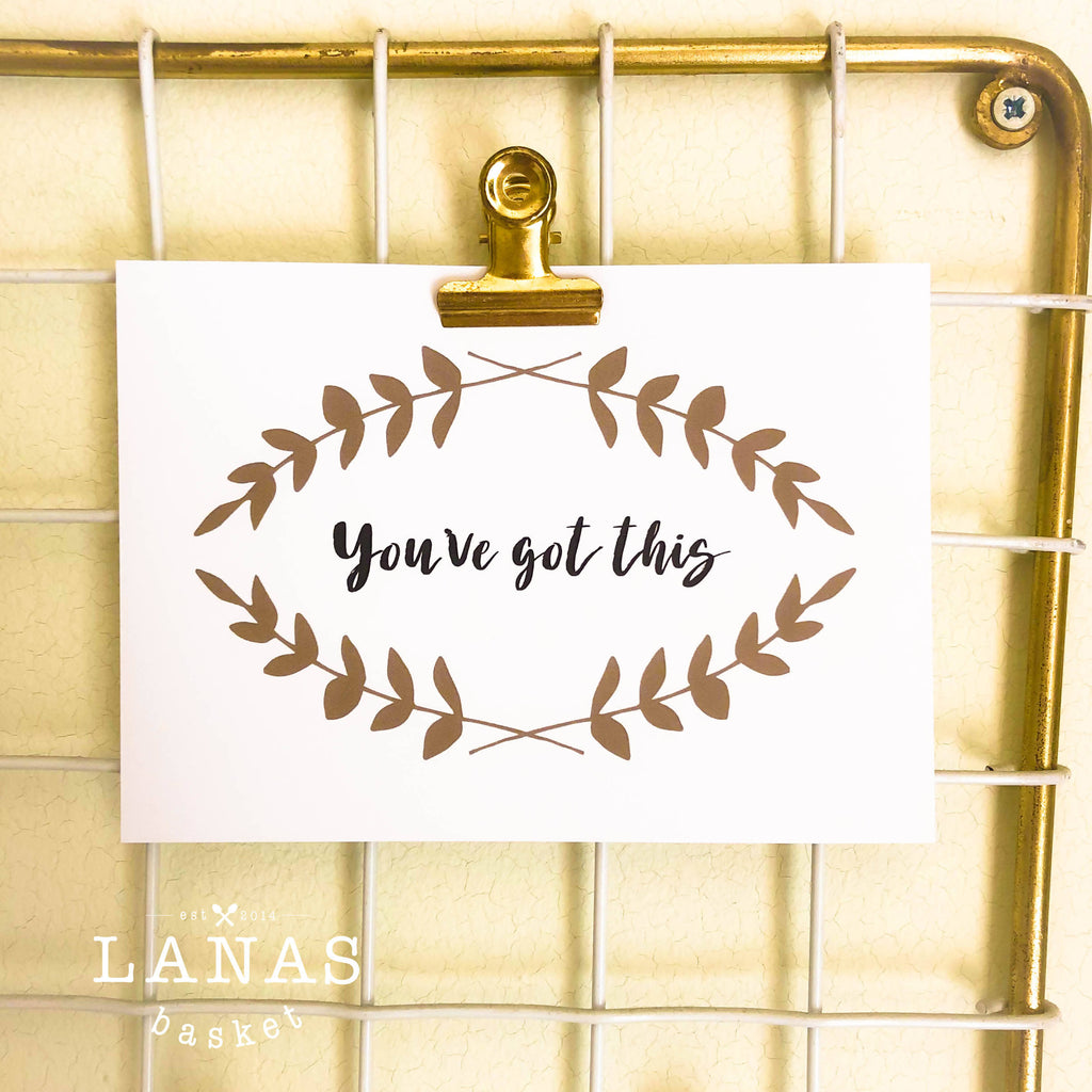 You've got this | Postcard