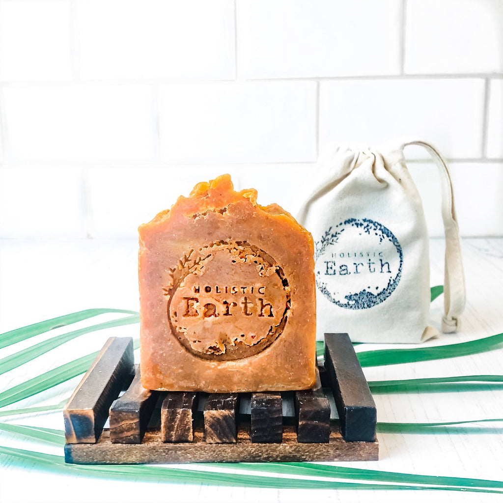 Orange & Walnut Shampoo & Soap Bar