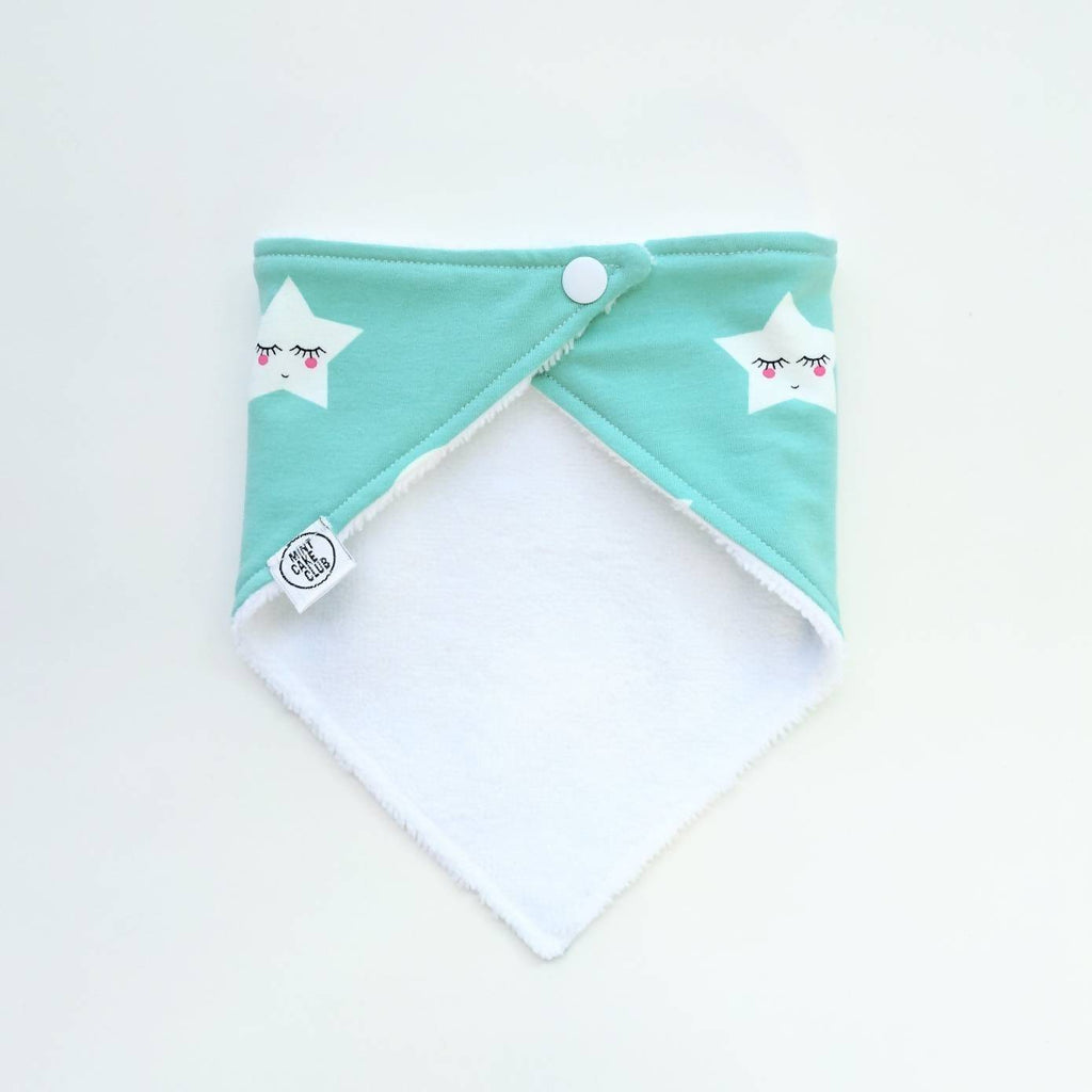 Stars and Moons bib