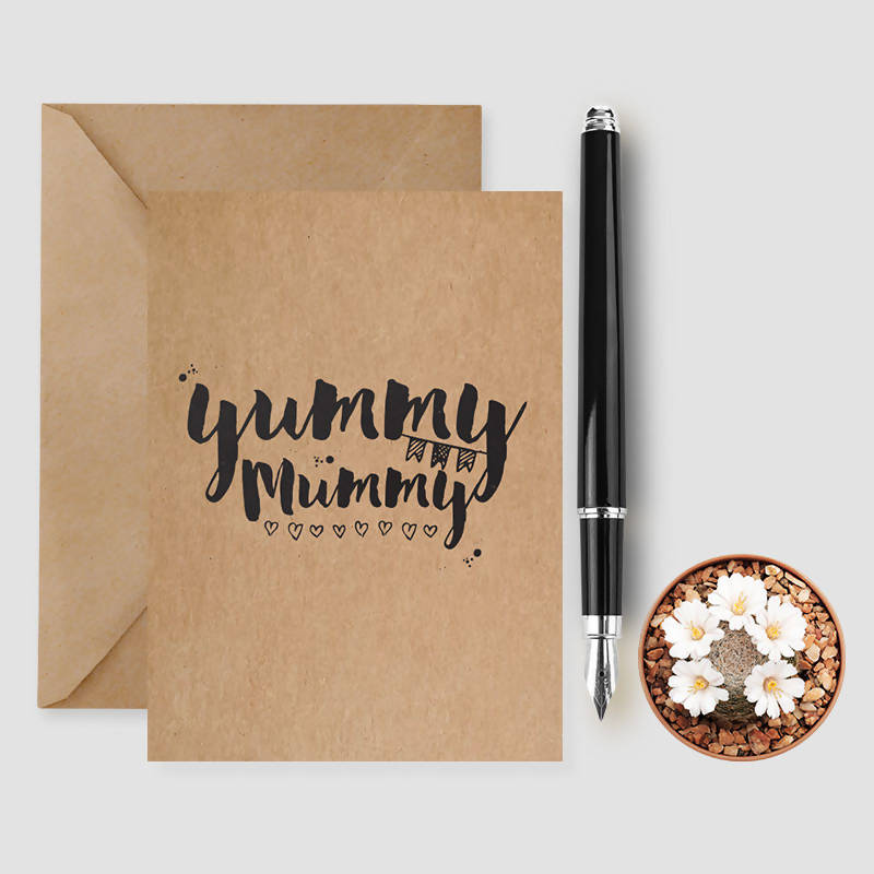 Yummy Mummy card