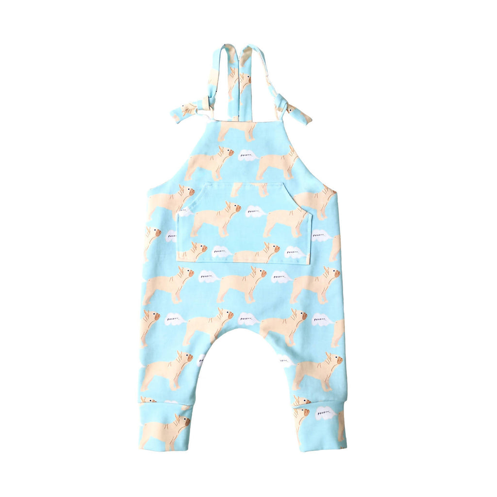 Thundering Ted French Bulldog Skinny Dungarees