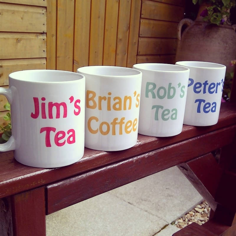 Personalised Mug-How do you take yours?